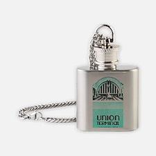 Union Terminal Flask Necklace