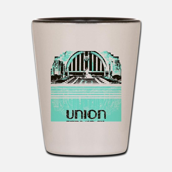 Union Terminal Shot Glass