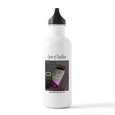 Queen of Deadlines Water Bottle