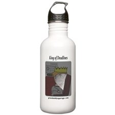 King of Deadlines Water Bottle