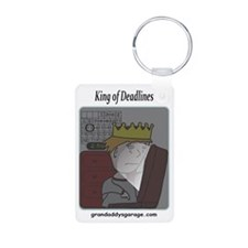 King of Deadlines Keychains