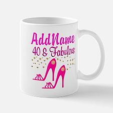 FABULOUS 40TH Small Small Mug