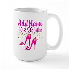 FABULOUS 40TH Mug