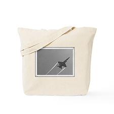 Grey Sky Jet Tote Bag