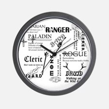 All Classes Wall Clock