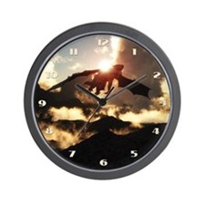 Home of the Dragons Wall Clock