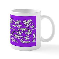 Lots O' Dragons Violet Mug