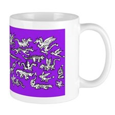 Lots O' Dragons Violet Mug