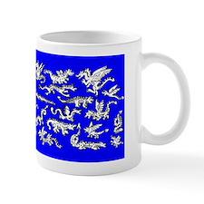 Lots O' Dragons Blue Mug