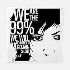 Anonymous 99% Occupy t-shirt Queen Duvet