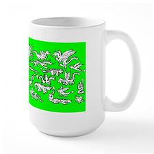 Lots O' Dragons Green Mug