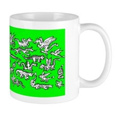 Lots O' Dragons Green Mug