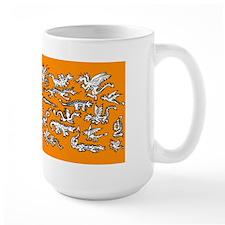 Lots O' Dragons Orange Mug