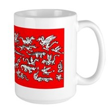 Lots O' Dragons Red Mug