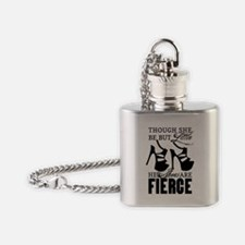 Though She Be But Little/Fierce Shoes Flask Neckla