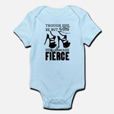 Though She Be But Little/Fierce Shoes Body Suit