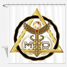 Medical Doctor Universal Design 2 Shower Curtain