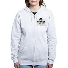 Anonymous 99% Occupy t-shirt Zip Hoodie