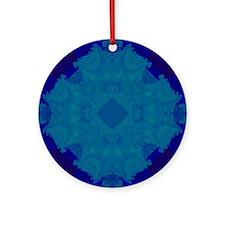 Fractal 650 Round Ornament