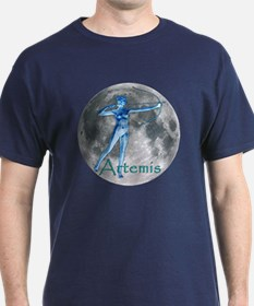 Artemis Moon greek god huntin T-Shirt