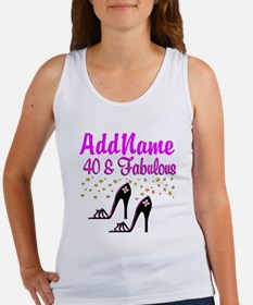 GLAMOROUS 40TH Women's Tank Top
