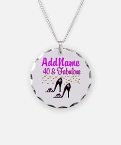 GLAMOROUS 40TH Necklace