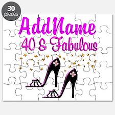 GLAMOROUS 40TH Puzzle
