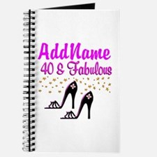 GLAMOROUS 40TH Journal