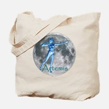 Artemis Moon greek god huntin Tote Bag