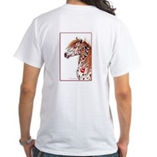Leopard Appaloosa War Pony Shirt
