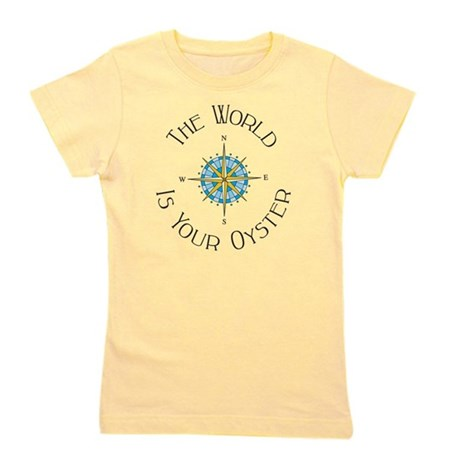 The World Is Your Oyster Girl's Tee