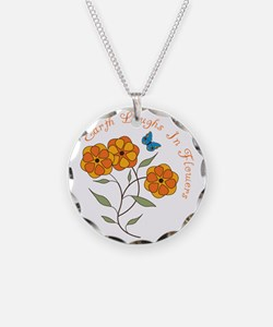 Earth Laughs In Flowers Necklace