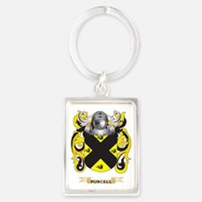 Purcell Coat of Arms (Family Cre Portrait Keychain
