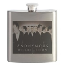 Anonymous 99% Occupy t-shirt Flask