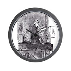 Looking Glass Back Wall Clock
