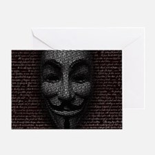 Anonymous 99% Occupy t-shirt Greeting Card