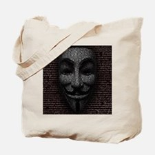 Anonymous 99% Occupy t-shirt Tote Bag