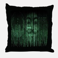 Anonymous 99% Occupy t-shirt Throw Pillow