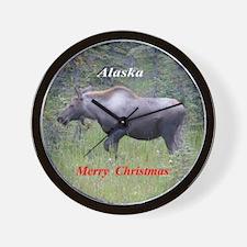 Moose Alaska Wall Clock
