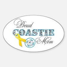 Proud Coastie Mom Decal
