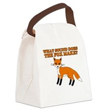 fox sound make Canvas Lunch Bag