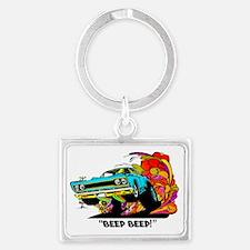 Beep Beep Landscape Keychain