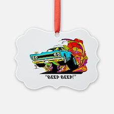 Beep Beep Ornament