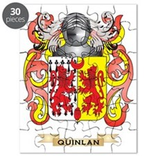 Quinlan Coat of Arms (Family Crest) Puzzle