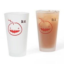 Oh Hi- Mad!Cry Drinking Glass