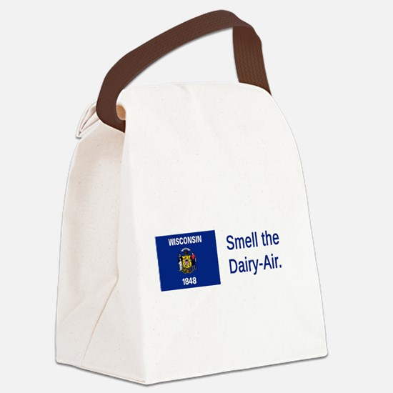 Wisconsin #4 Canvas Lunch Bag