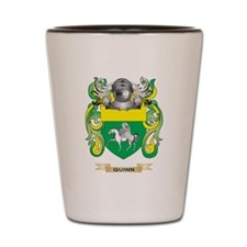 Quinn Coat of Arms (Family Crest) Shot Glass