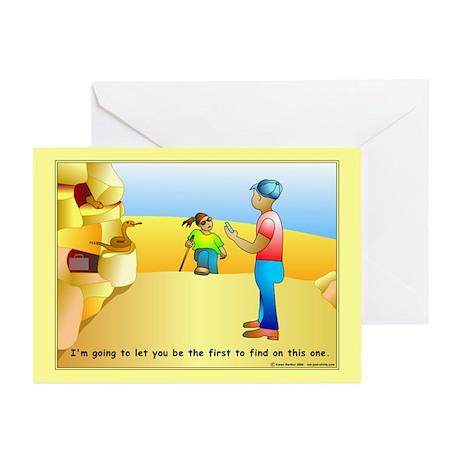 Geocaching FTF Greeting Cards (Pk of 10)