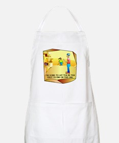 Geocaching First to Find BBQ Apron