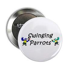 Swinging Parrots Button